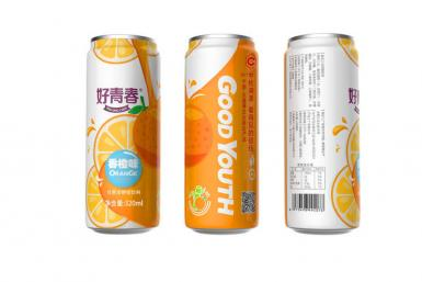 Orange Flavoured Sparkling Drink