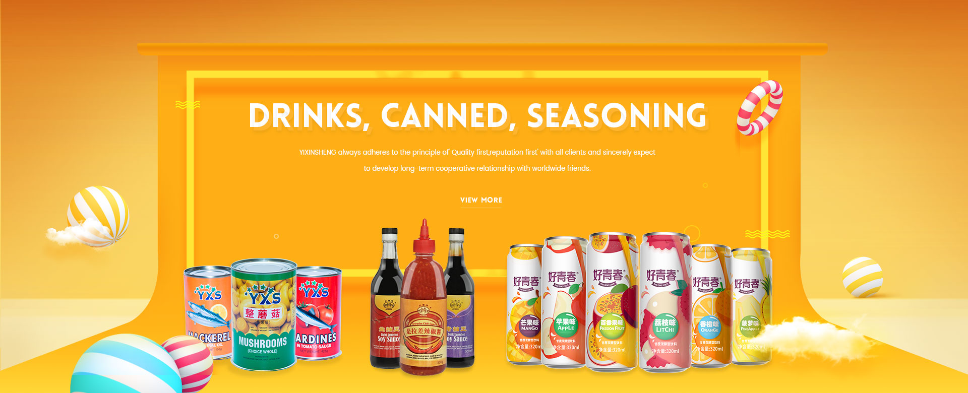 China canned food,sparkling fruit drinks,condiments factory